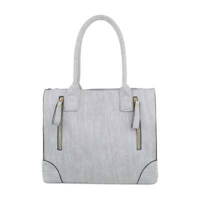 Mittelgroße Damen Tasche Grau