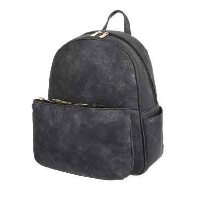 Kleine Damen Tasche Schwarz Grau