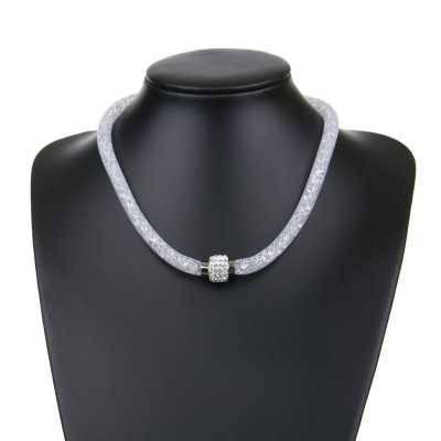 Halskette für Damen in Weiß