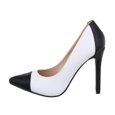 High Heel Pumps für Damen in Weiß und Schwarz
