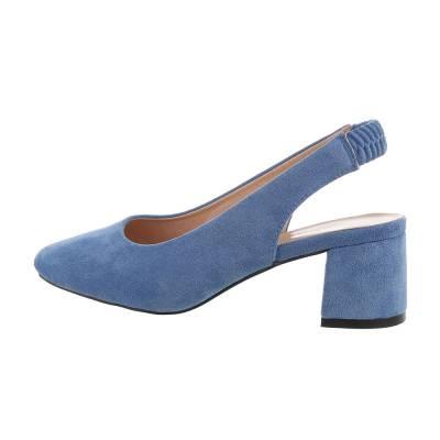 Schnür- & Riemchenpumps für Damen in Blau