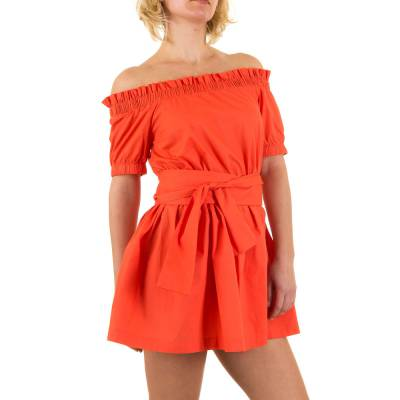 Minikleid für Damen in Orange