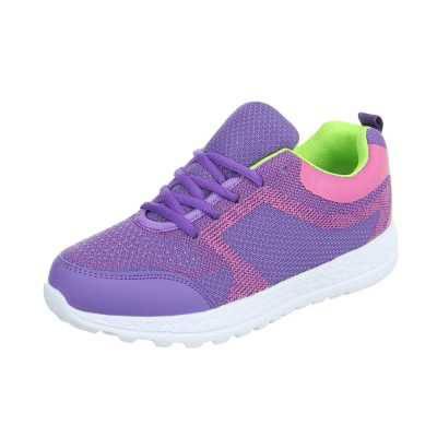 Sneakers low für Damen in Lila