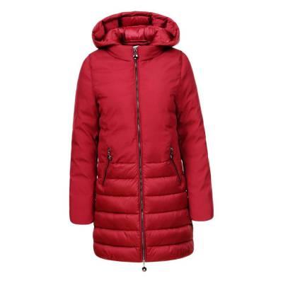 Wintermantel für Damen in Rot