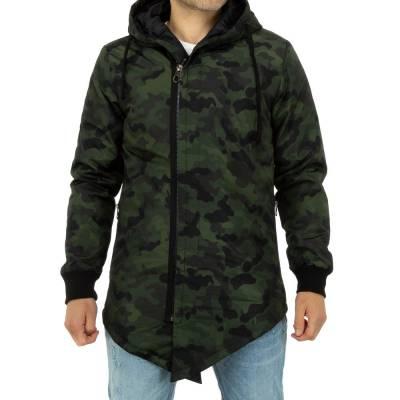 Camouflage Herren Jacke Grün