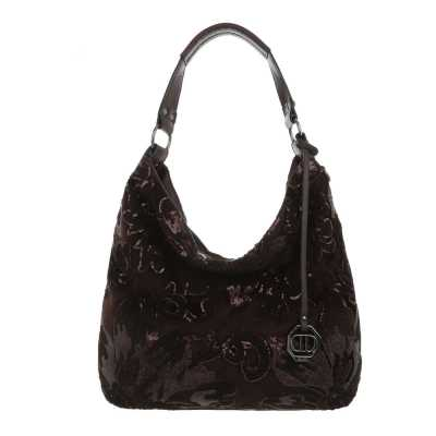 Große Damen Tasche Dunkelbraun