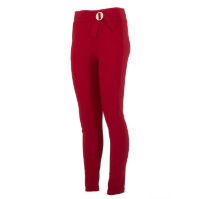 Chinos für Damen in Rot