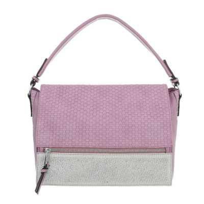 Handtasche für Damen in Lila