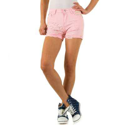 Hotpants für Damen in Rosa