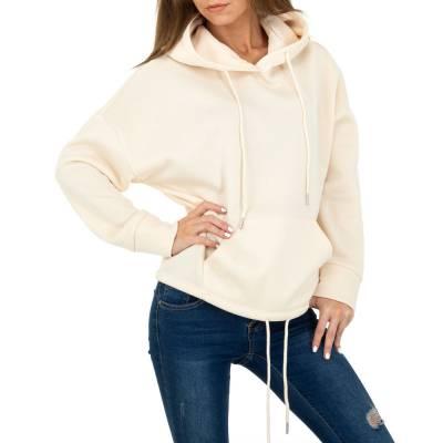 Sweatshirt für Damen in Beige