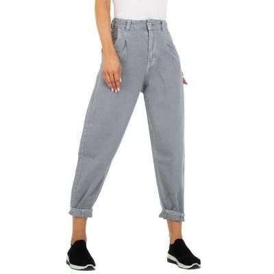Relaxed Fit Jeans für Damen in Grau und Grau