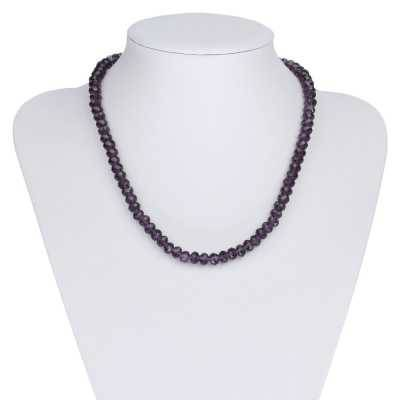 Halskette für Damen in Lila