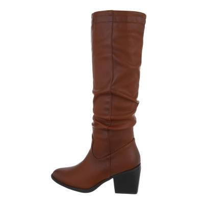 Klassische Stiefel für Damen in Braun