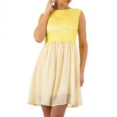 Cocktailkleid für Damen in Gelb