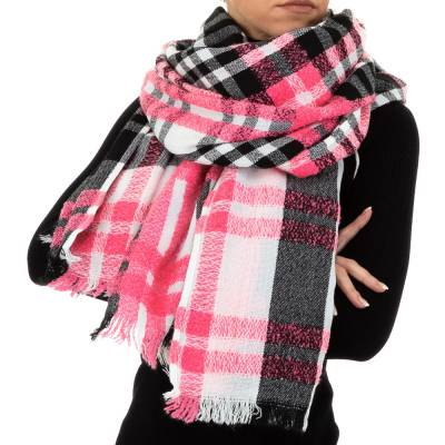 Wollmix Riesen Xxl Schal Pink