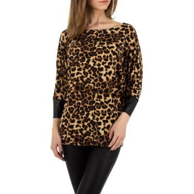 Langarmshirt für Damen in Mehrfarbig