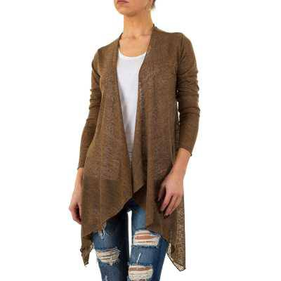 Strickcardigan für Damen in Braun