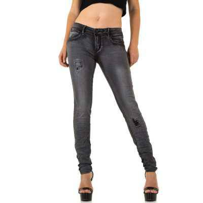 Jeans für Damen in Grau