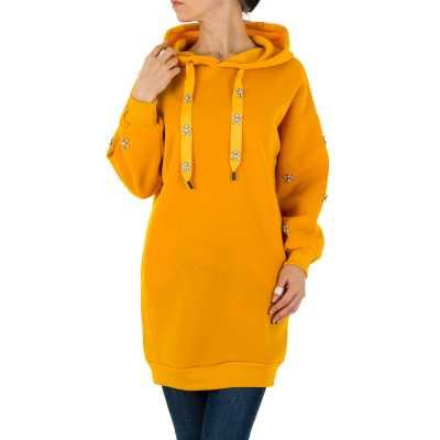 Sweatshirt für Damen in Orange