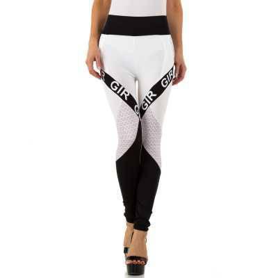 Klassische Leggings für Damen in Weiß