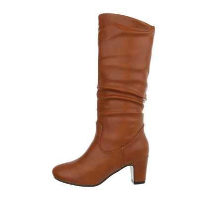 Stiefel für Damen in Braun