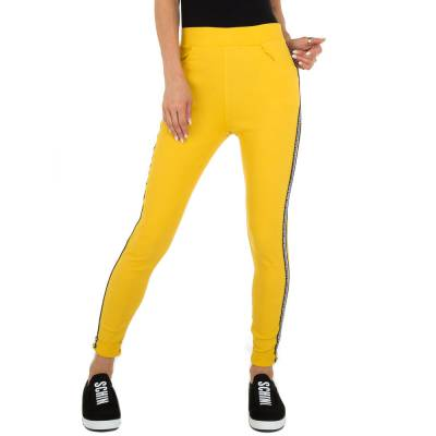 Chinos für Damen in Gelb