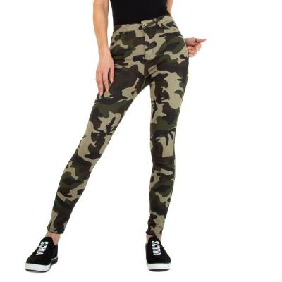 Skinny Jeans für Damen in Camouflage