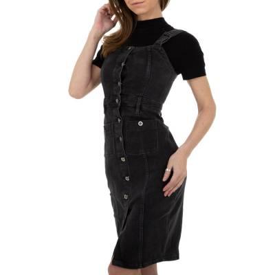 Jeanskleid für Damen in Grau