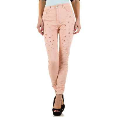 High Waist Jeans für Damen in Rosa