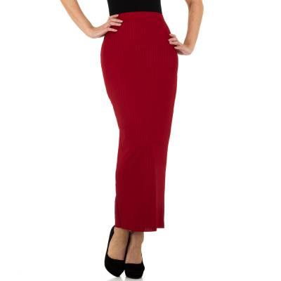 Maxirock für Damen in Rot