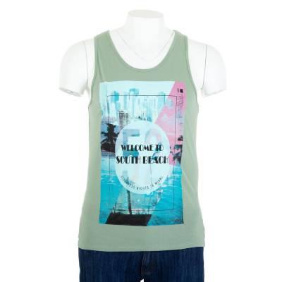T-Shirt für Herren in Grün