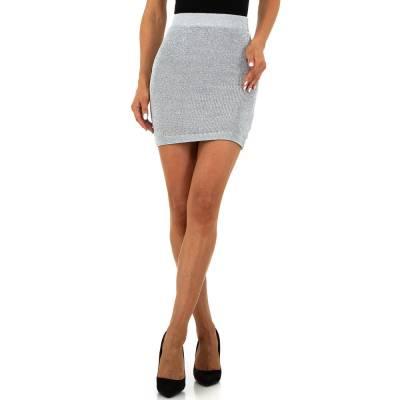 Minirock für Damen in Grau