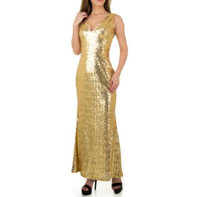 Abendkleid für Damen in Gold