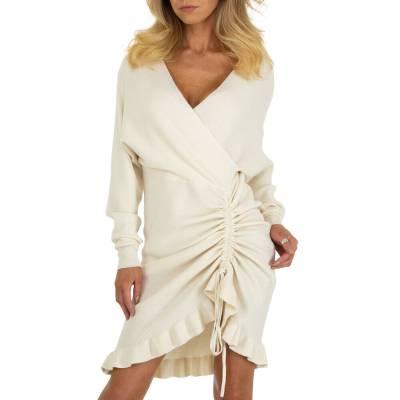 Sommerkleid für Damen in Creme