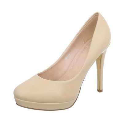 High Heel Pumps für Damen in Beige