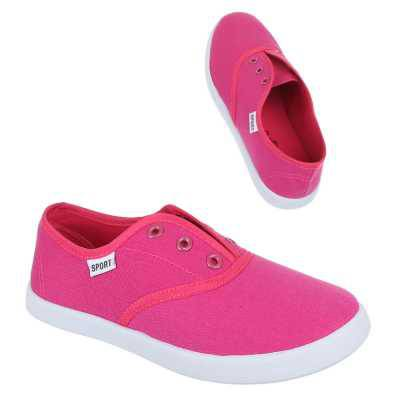 Mädchen Kinder Freizeitschuhe Pink