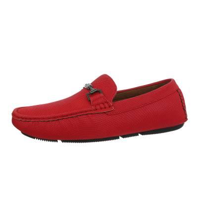 Slipper für Herren in Rot