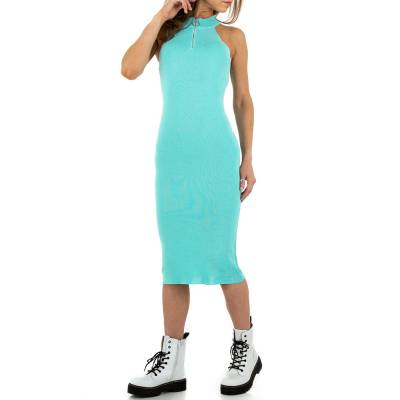 Stretchkleid für Damen in Blau