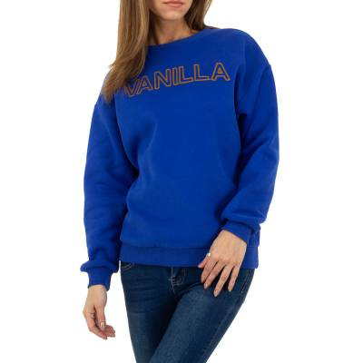 Sweatshirt für Damen in Blau