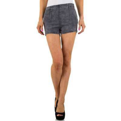 Hotpants für Damen in Grau