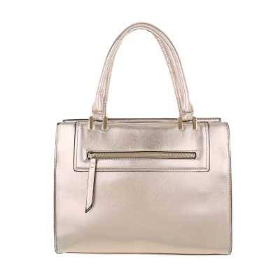 Mittelgroße Damen Tasche Gold