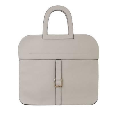 Handtasche für Damen in Beige