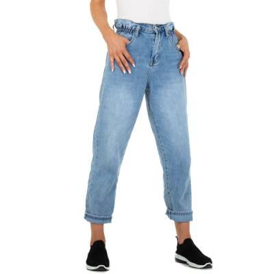Relaxed Fit Jeans für Damen in Blau