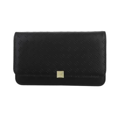 Geldbörse für Damen in Schwarz