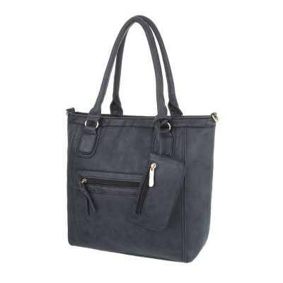 Mittelgroße Damen Tasche Dunkelgrau