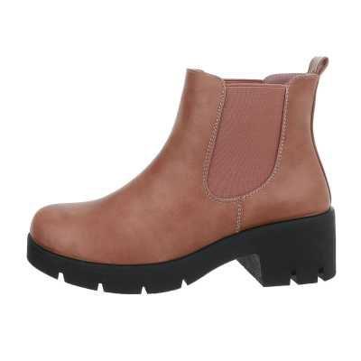 Chelsea Boots für Damen in Rosa