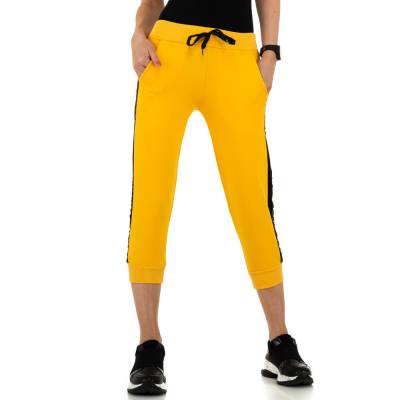 Jogginghose für Damen in Gelb