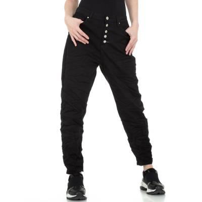 Boyfriend-Hose für Damen in Schwarz