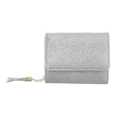 Geldbörse für Damen in Silber