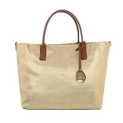 übergroße Damen Tasche Gold